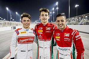 FIA F2 予選レポート 【F2】バーレーン予選:昇格初戦のルクレールPP、松下信治6位