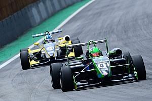 Fórmula 3 Brasil Relato da corrida Fortunato segura Iorio e vence corrida 2 em Interlagos