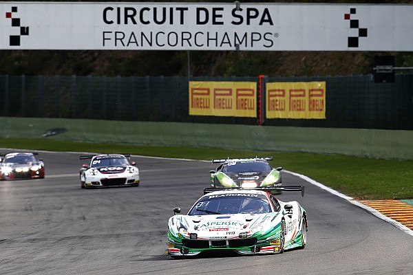 Blancpain Endurance Spa 24 Hours: Fisichella Ferrari leads after six hours