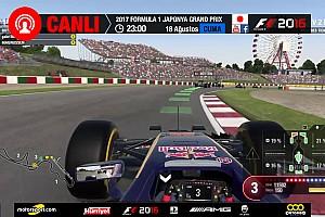 FORMULA 1 LİGİ Son dakika 2017 Japonya GP Sanal Turnuva: Canlı Yayın