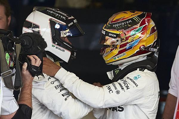 Bottas/Hamilton title fight will not sour relationship - Mercedes