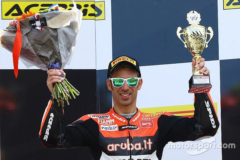 Quatrième podium consécutif pour Melandri