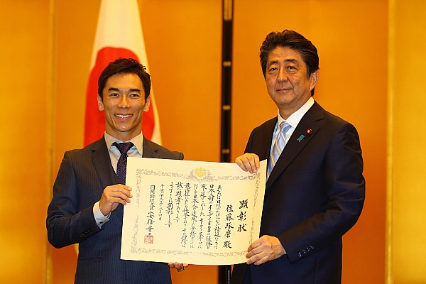 IndyCar 速報ニュース 【インディカー】佐藤琢磨、内閣総理大臣顕彰を受賞