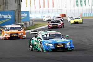 DTM Race report Hungaroring DTM: Mortara leads all-Audi top six in Race 1