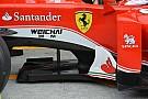 Ferrari: le paratia del T-tray adesso sono state allungate