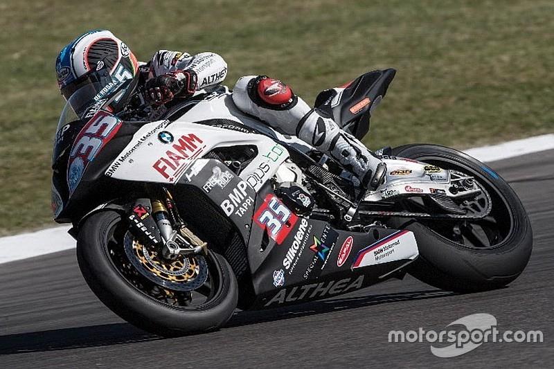 Raffaele De Rosa penalizzato dopo l'incidente con Mercado a Misano