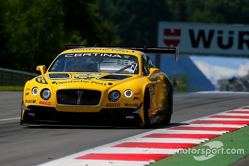 GT-Masters: Bentley mit zwei Autos in der ersten Startreihe