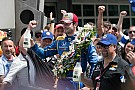 """""""笔记本"""":百届Indy 500,""""菜鸟""""亚历山大·罗西夺冠"""