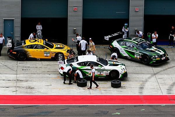 Interne Fahrerwechsel beim Bentley-Team im GT-Masters