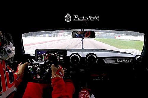 Pambuffeti PJ-01, la nuova supercar italiana si allena in pista