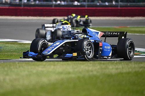 Silverstone F2: Zhou scores feature race win ahead of Ticktum