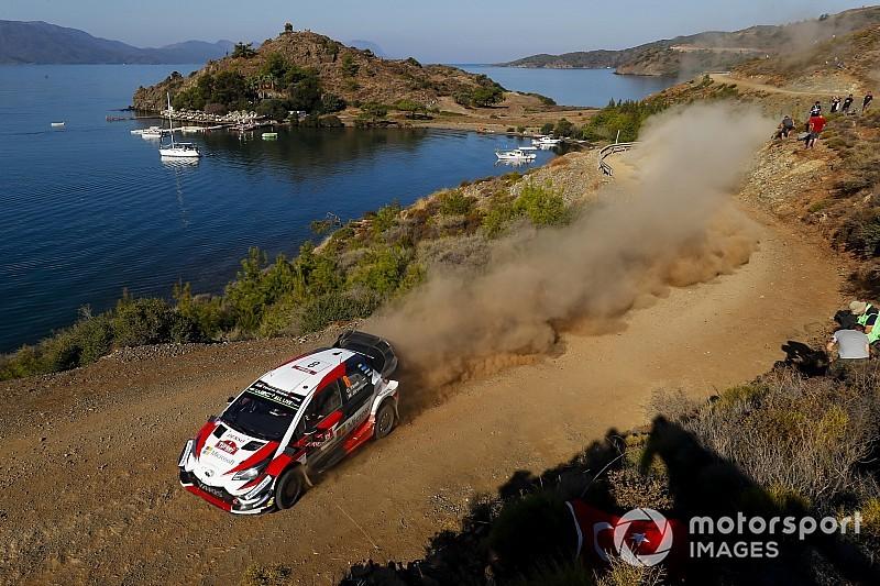 WRCトルコ:オット・タナク3連勝! トヨタ、ランキング首位に浮上