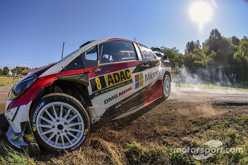 Rallye Deutschland: Ott Tänak behauptet seine Führung