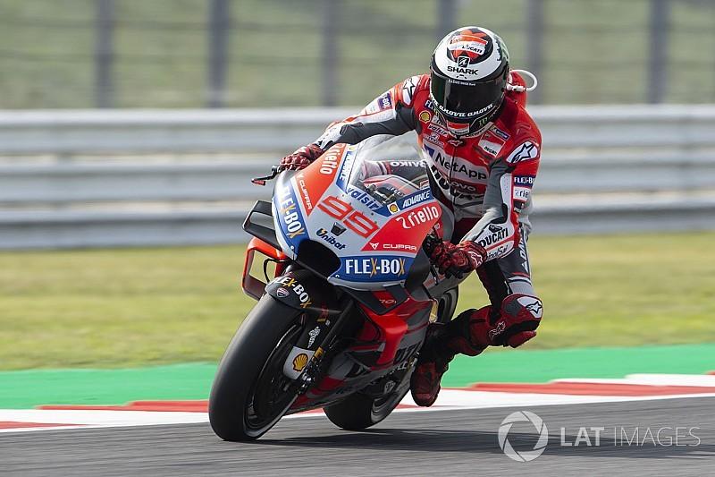 Qualifs - Lorenzo intraitable, Márquez au pas de course!