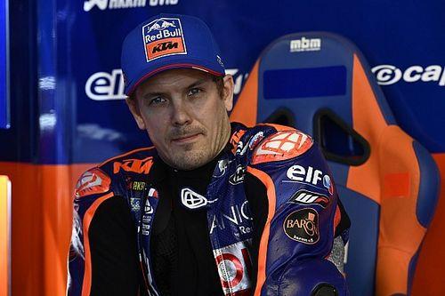 MotoGP: Kallio si frattura tibia e perone sul ghiaccio