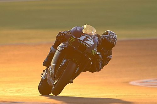 "Vinales ""surprised"" by Qatar test long-run pace on old Yamaha"