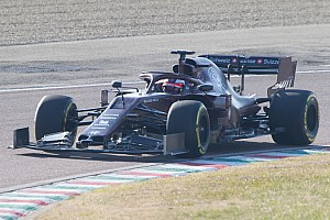 Gallery: Alfa Romeo's new Formula 1 car hits the track