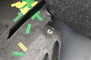 Mercedes onthult oorzaak van schade aan Hamiltons wagen in Australië
