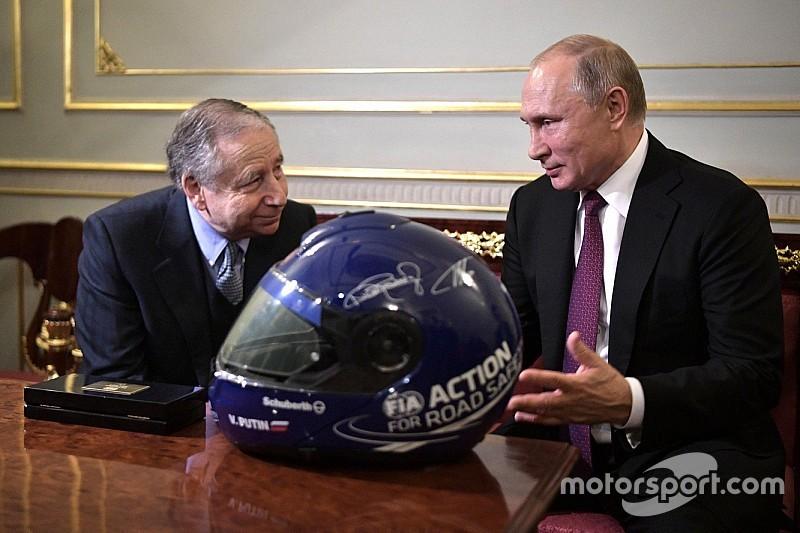 FIAトッド会長、プーチン大統領と会談。ロシアのモータースポーツの将来を語る