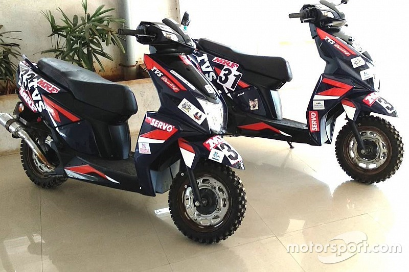 Three riders to compete in Raid de Himalaya on scooters