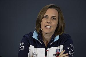 Claire Williams: Meg kell néznünk, hogy miért estünk vissza az 5. helyről a 10. helyre