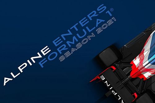 アルピーヌがF1へ! ルノーが2021年からチーム名称を変更
