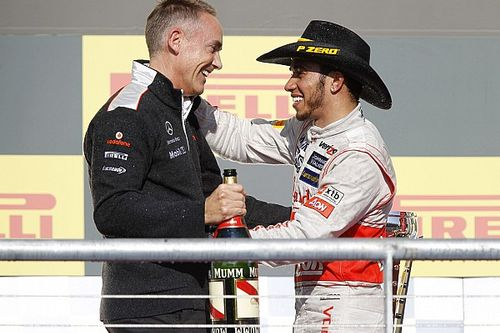 Hamilton espera que Whitmarsh lo haya perdonado por dejar McLaren