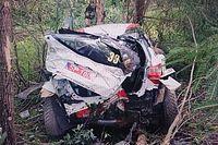 VÍDEO: Piloto do Mundial de Rally sofre acidente impressionante na Estônia e sai sem ferimentos