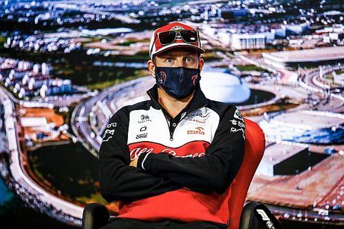 Raikkonen apenas siguió la F1 en su ausencia por COVID-19