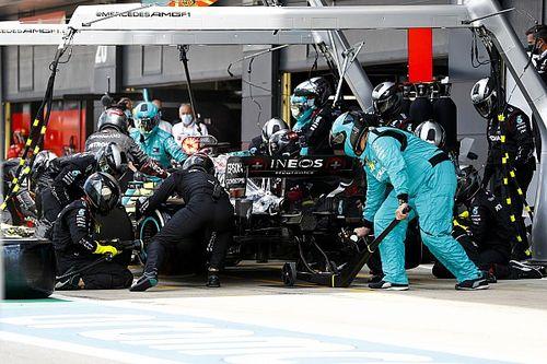 Nem semmi, amire a Mercedes képes: dupla F1-es kerékcsere a Brit Nagydíjról (videó)