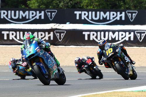 Moto2アンダルシア決勝:バステアニーニ初優勝。長島魂の走りで11位、ランク首位堅持