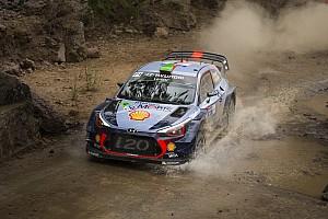 WRC Preview Paddon et Hyundai ont des succès à renouveler
