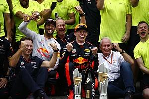 Formel 1 News Red Bull: Verstappen und Ricciardo sollen bis 2020 bleiben