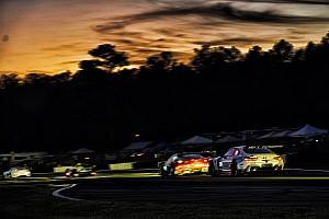 IMSA Reporte de prácticas Hartley logra el mejor tiempo en la práctica nocturna en Petit Le Mans