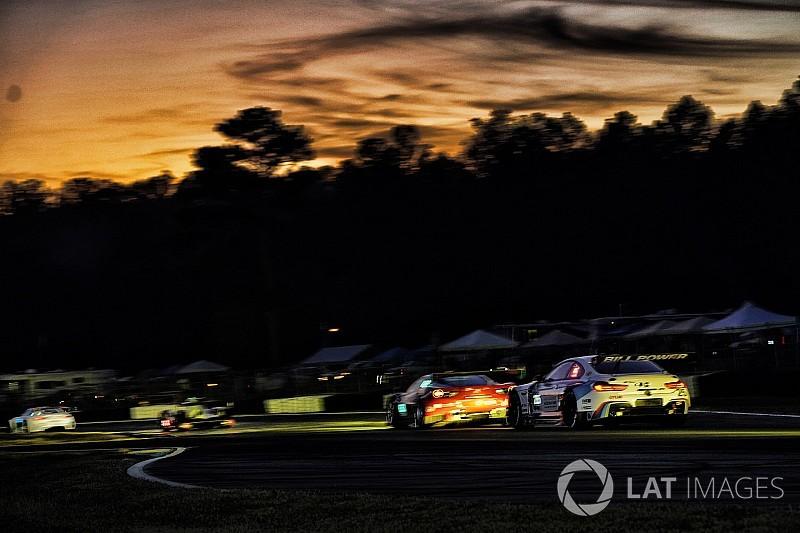 Hartley logra el mejor tiempo en la práctica nocturna en Petit Le Mans