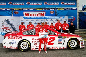 NASCAR Cup Qualifying report Larson scores fourth pole of the season in New Hampshire