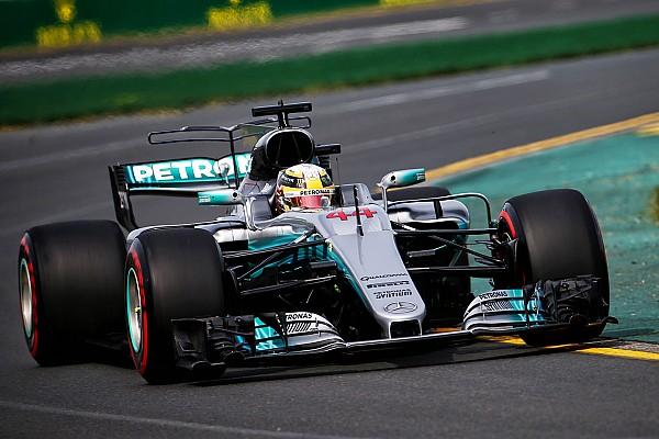 Формула 1 Отчет о тренировке Хэмилтон стал быстрейшим в первой тренировке Гран При Австралии