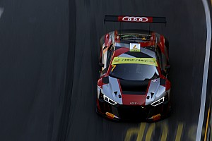 GT Qualifying report GT World Cup: Mortara leads Audi 1-2 in qualifying