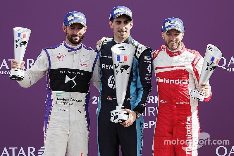 Paris ePrix: Buemi wins, disaster for di Grassi