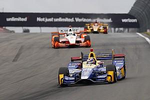 IndyCar Отчет о гонке Росси выиграл этап IndyCar в Уоткинс-Глене