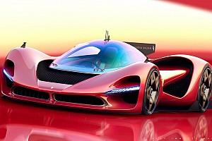 Рендер Ferrari P3 може стати конкурентом Aston Martin Valkyrie