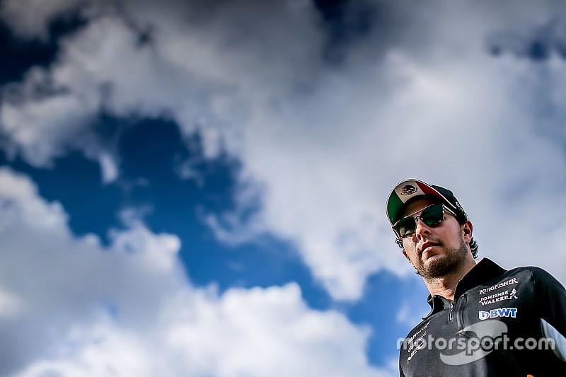 Pérez quiere tener su futuro definido antes del GP de Bélgica