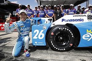 IndyCar на Поконо: Сато стартуватиме з поулу