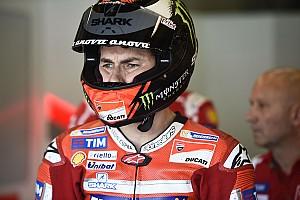 """MotoGP Noticias de última hora Lorenzo: """"Hay que ver cómo se comporta aquí la Ducati sin alas"""""""