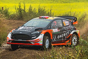 WRC Breaking news Ostberg parts company with co-driver Floene