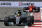 "Formula 1 Hamilton expects ""a real race"" with Ferrari at Sochi"