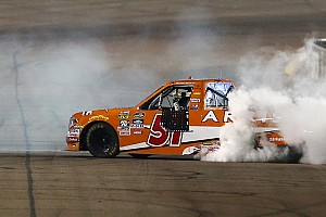 NASCAR Truck Race report Suarez wins his first Truck race as Championship 4 is set