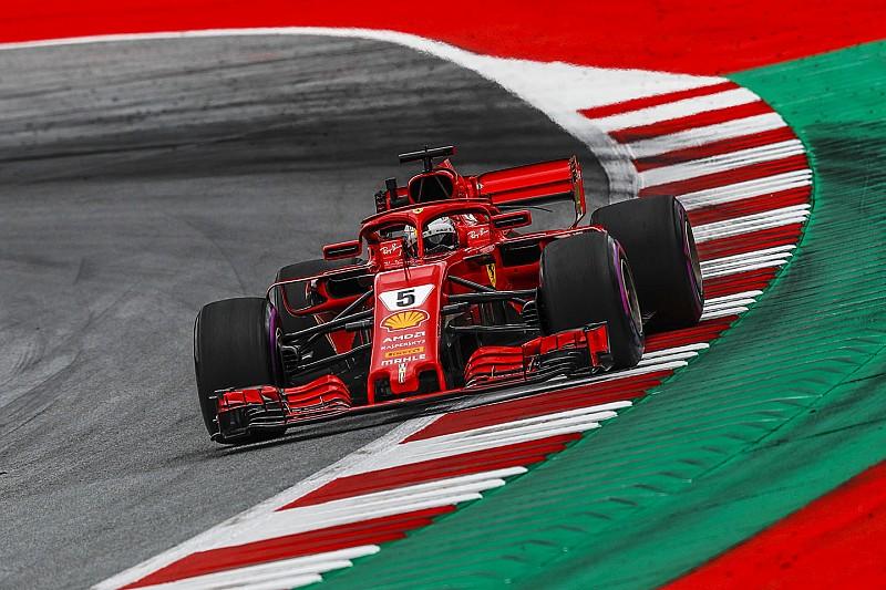 Avusturya GP 3. antrenman: Vettel, Hamilton'ın 0.029 saniye önünde lider!