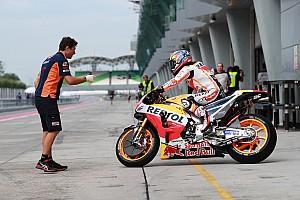 MotoGP Testing report Pedrosa tops first day of MotoGP pre-season testing