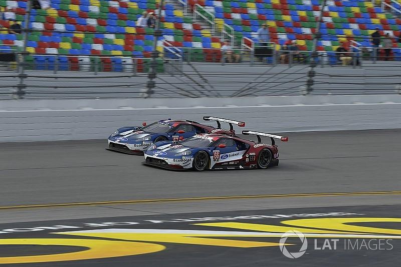 C'est la stratégie qui a décidé de la Ford victorieuse à Daytona